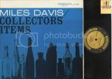 Miles Davis quotCollectors' Itemsquot Prestige Records LP 7044 - Jazz Vinyl Record Album - Deep Groove